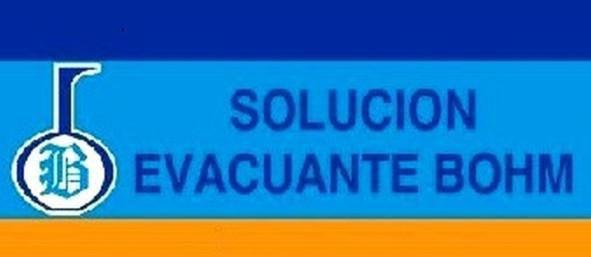 Solucion evacuante bohm precio