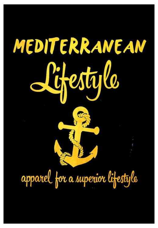 MEDITERRANEAN LIFESTYLE APPAREL FOR A SUPERIOR LIFESTYLE
