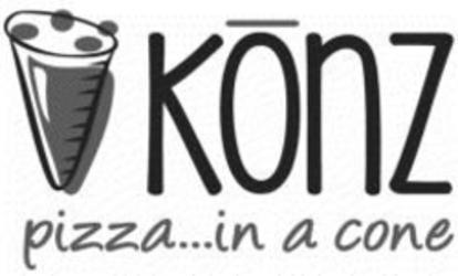 KONZ PIZZA...IN A CONE