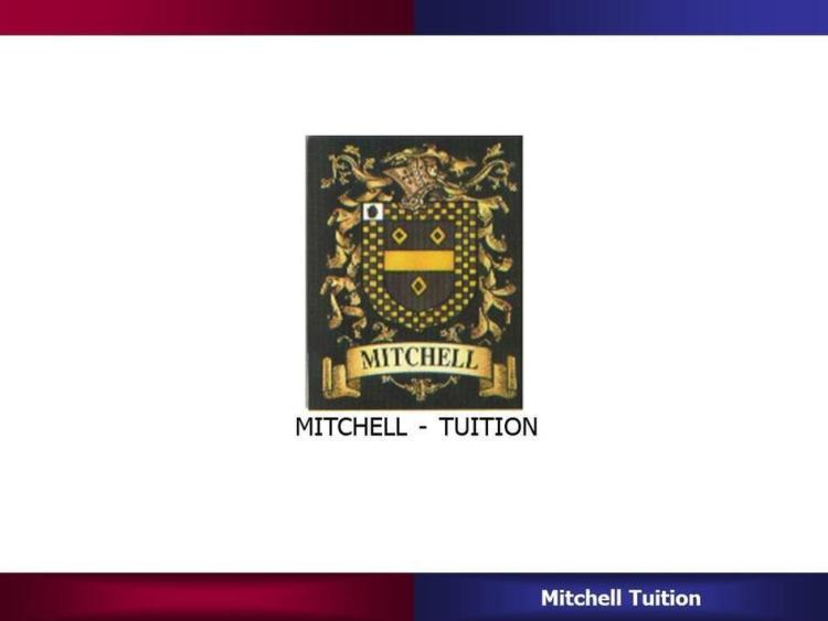 MITCHELL - TUITION