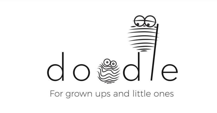 DOODLE TOGETHER FOR GROWN UPS AND LITTLE ONES